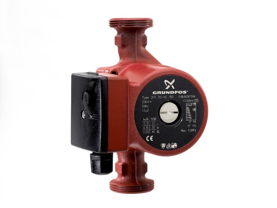 Pompa model Grundfos UPS 25-40/60 180 1X230V