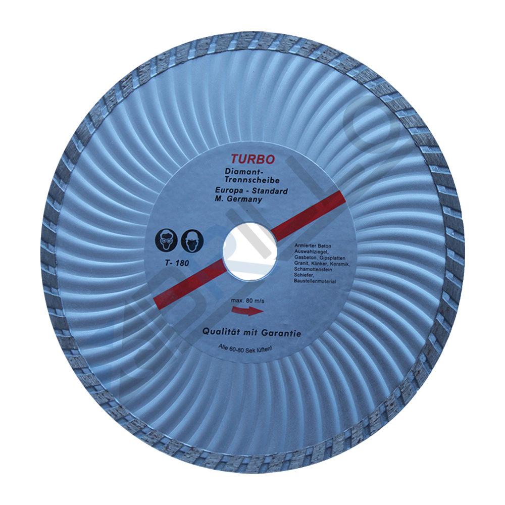 Disc diamantat Turbo 180x22,23mm