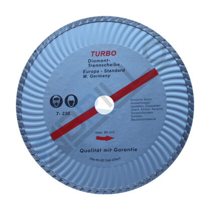Disc Diamantat Turbo 230x22,23mm
