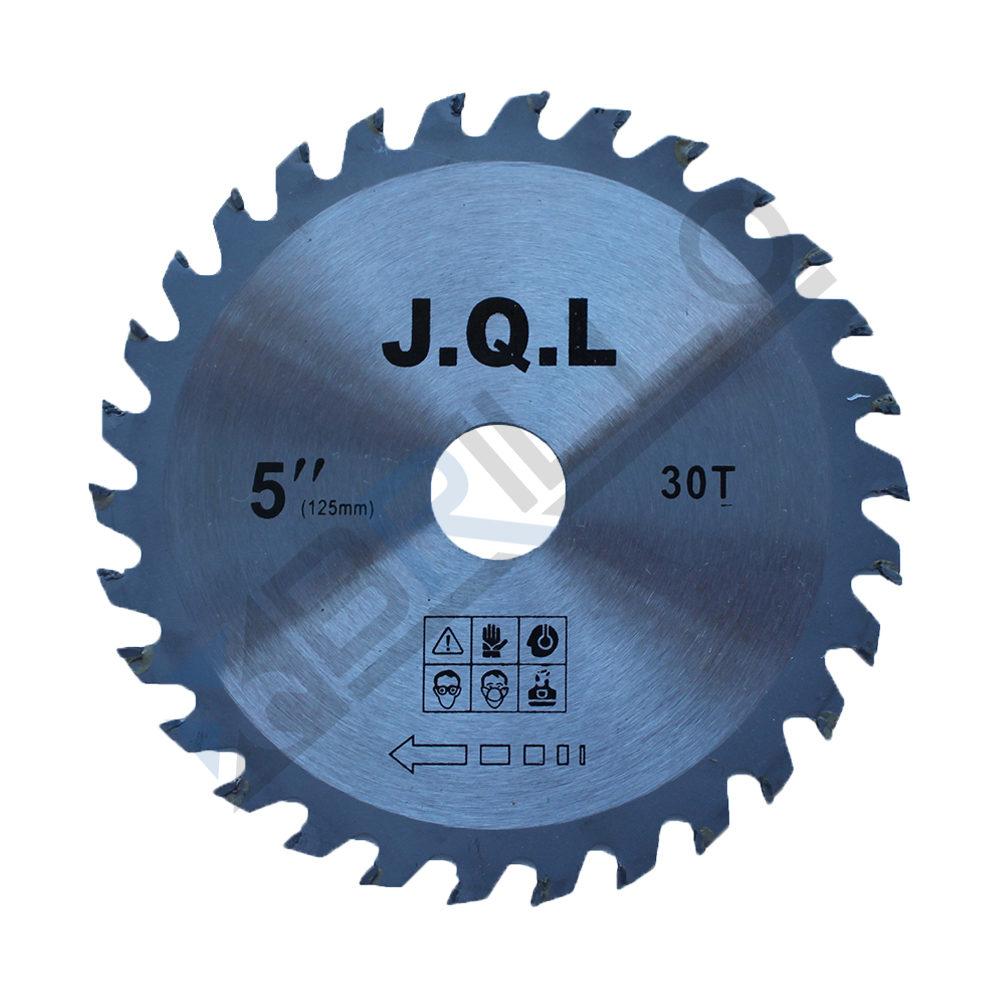 Disc circular cu widia, pentru lemn/pal 125×22.23mm