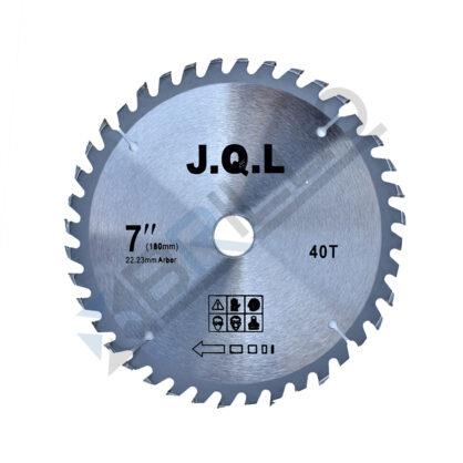 Disc circular cu widia, pentru lemn/pal 180×22.23mm