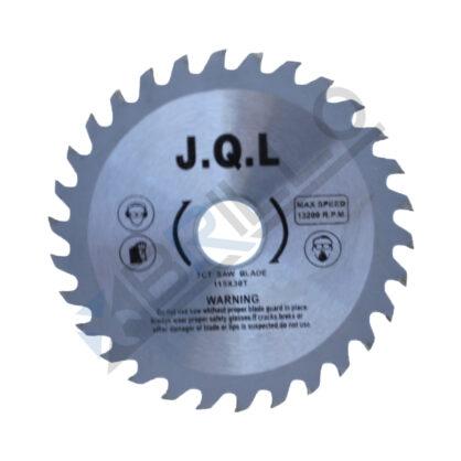 Disc circulat cu widia, pentru lemn si pal 115 x 22.23 mm