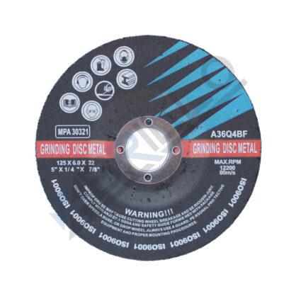 Disc polizat metal 115x6x22,23 mm