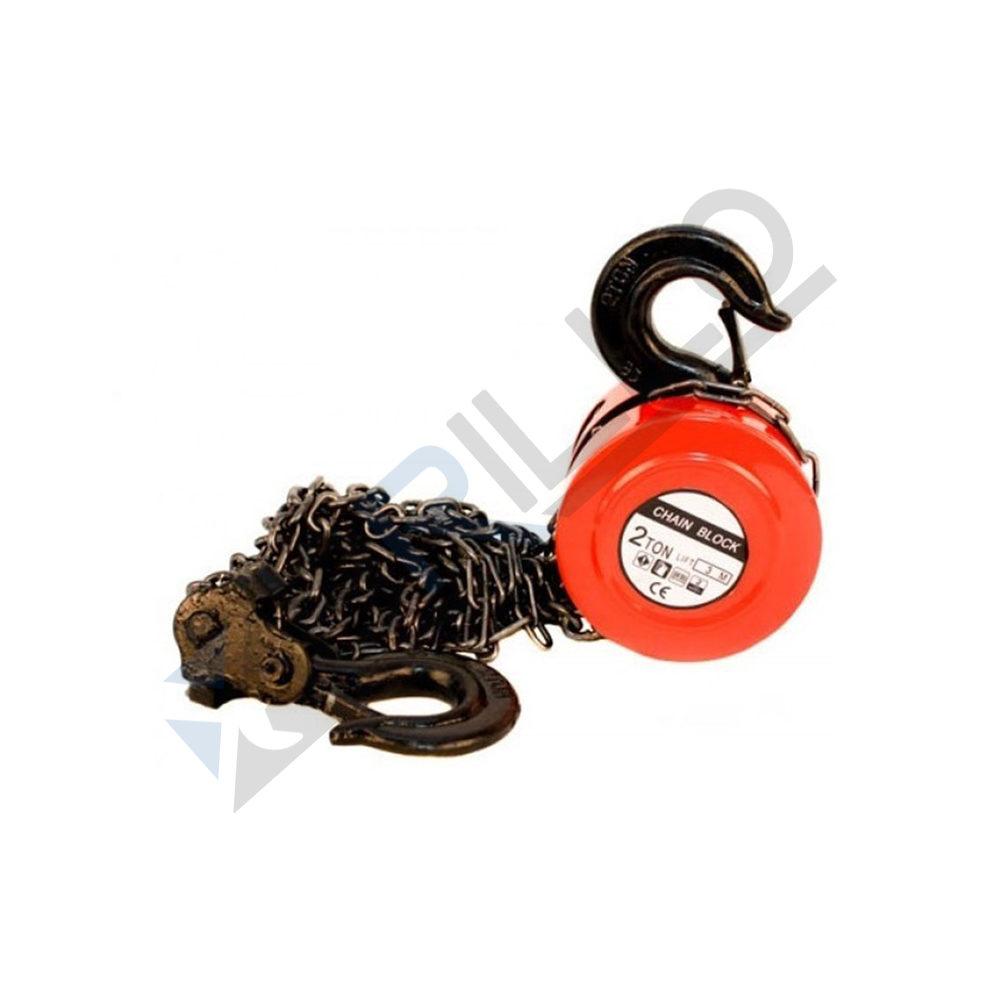 Macara cu lant (palan manual) scripete 2 tone