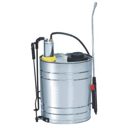 Pulverizator manual cu pompa lance din inox, 16 l