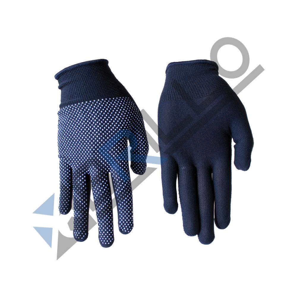 Manusi protectie Supertite, tricot cu puncte, PVC