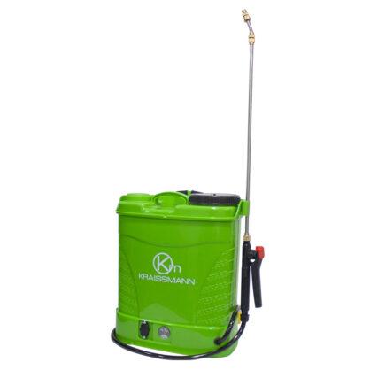 Pompa de stropit Kraissmann, cu baterie, cu manometru, 12 litri