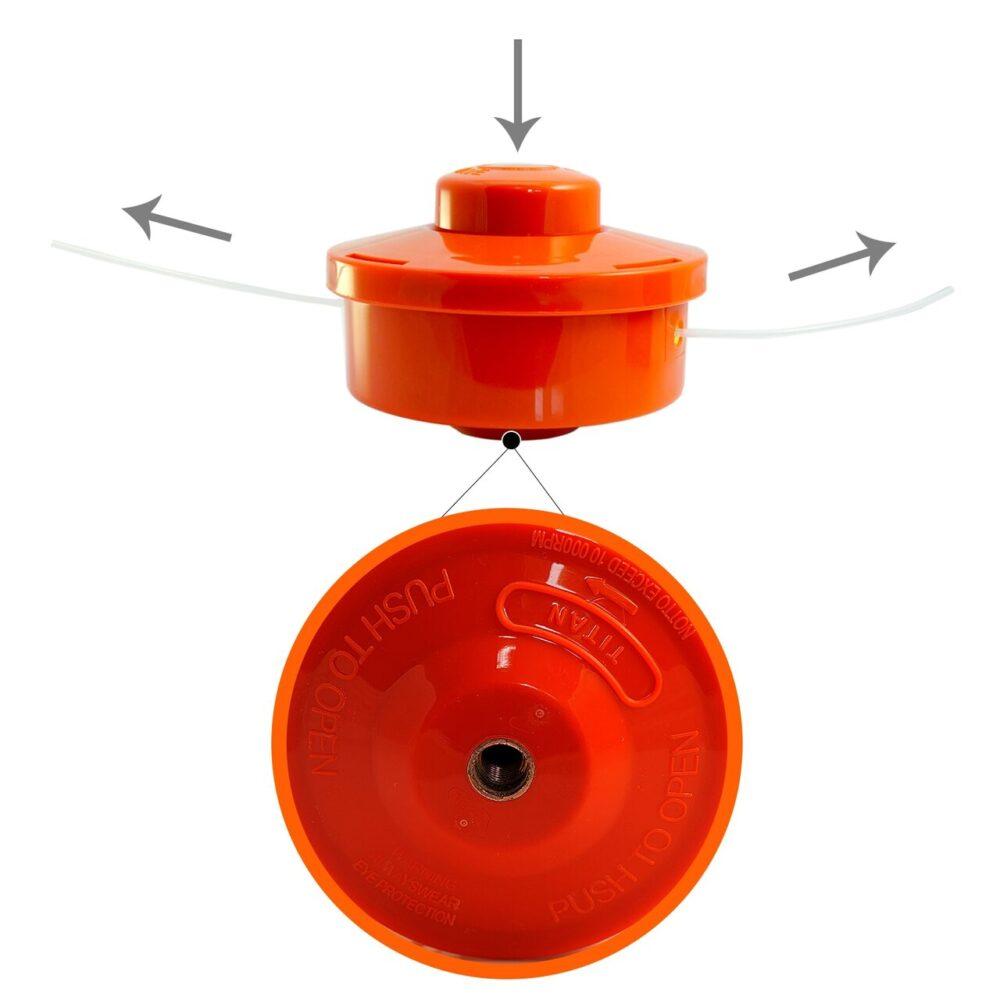 Mosor motocositoare portocaliu